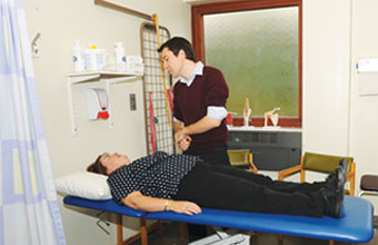 Staff physiotherapy service proves worthwhile