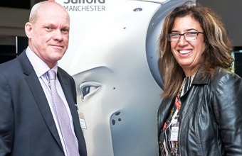 Robotics researchers star at MediaCityUK industry event