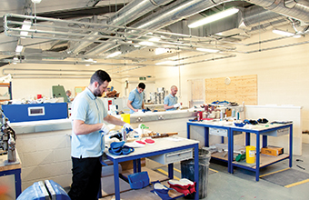 Trust builds new workshop in grounds
