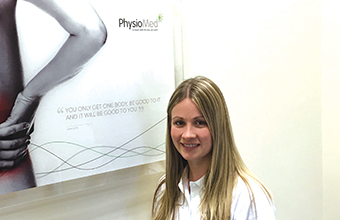New physiotherapist to help improve clients' personal wellness
