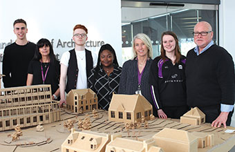 Architecture and occupational therapy students join to design for dementia