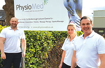 Physiotherapy clinic opens