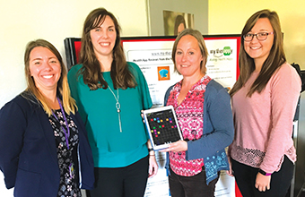 Students testing apps to help stroke and brain injury patients