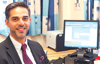 New consultant Mustafa's career comes full circle